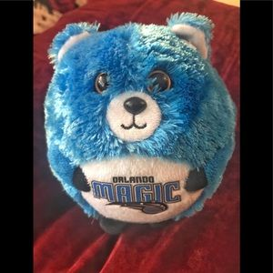 Orlando Magic TY Beanie Ballz round ball bear